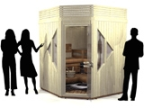 2-4 person saunas