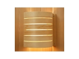 Curved Wood Lamp shade